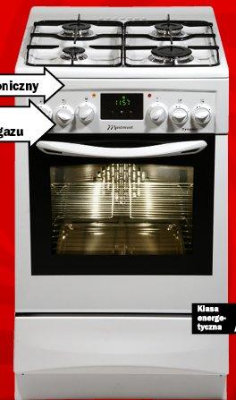 Archiwum Kuchnia Gazowo Elektryczna Mastercook Kge 3415 Zsb