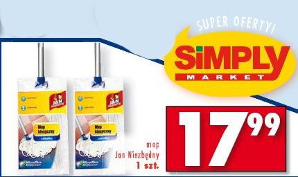 Archiwum   Mop Jan Niezbędny - Simply Market 17  11  2011 - 23  11