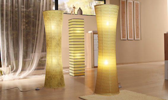 lampy papierowe stojące leroy merlin