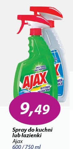 Archiwum Spray Do Kuchni Lub łazienki Ajax Eleclerc 11