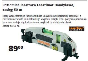 Archiwum Poziomica Laserowa Laserliner Handylaser Zasięg