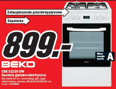 Archiwum Kuchnia Gazowo Elektryczna Beko Cse 52320 Dw
