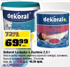 Archiwum Dekoral łazienka Kuchnia 25 L Farba Do Kuchni