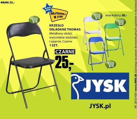 Archiwum Krzesło Składane Thomas Jysk 03 10 2013 16