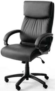 Krzesło biurowe STAKROGE brązowe | JYSK