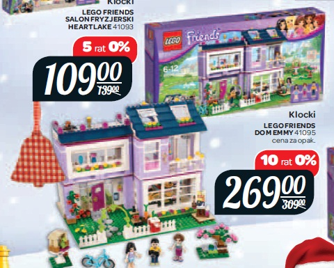 Archiwum Klocki Lego Friends Dom Emmy 41095 Carrefour 04 11