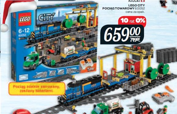 Archiwum Klocki Lego City Pociąg Towarowy 60052 Carrefour 04 11