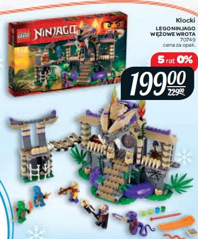 Archiwum Klocki Lego Ninjago Wężowe Wrota 70749 Carrefour 04 11
