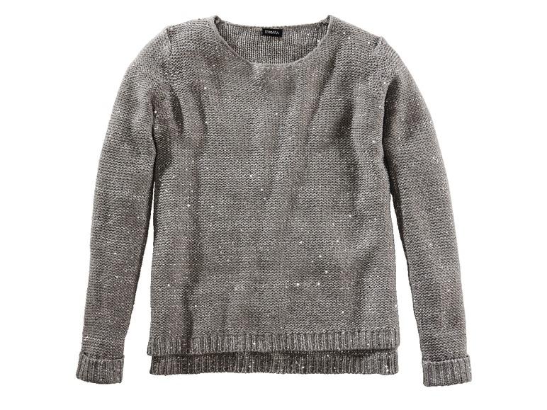 Chwalebne Archiwum | Sweter damski z cekinami - Lidl 17. 12. 2015 - 19. 12 PW85