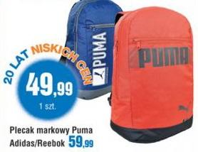 świetne oferty autentyczny zamówienie Archiwum   Plecak markowy Puma, Adidas, Reebok - E.Leclerc ...