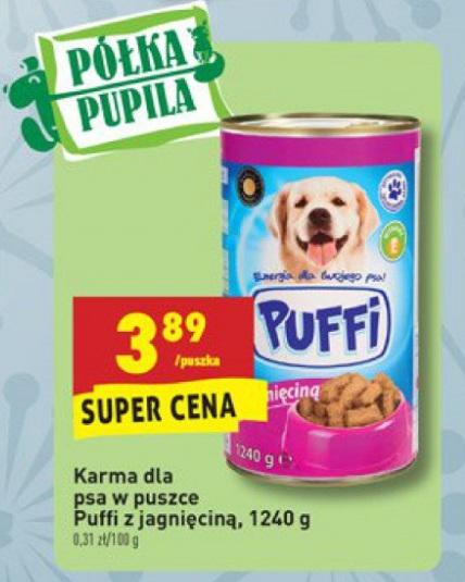 W Mega Archiwum | Karma dla psa Puffi - Biedronka 05. 12. 2016 - 11. 12 CC25