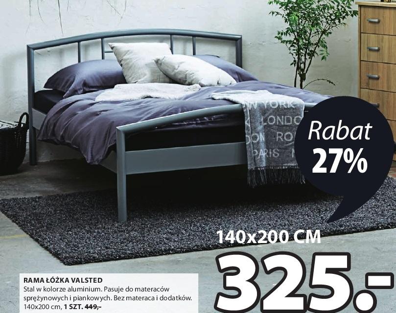 Archiwum Rama łóżka Valsted Jysk 01 09 2016 14 09