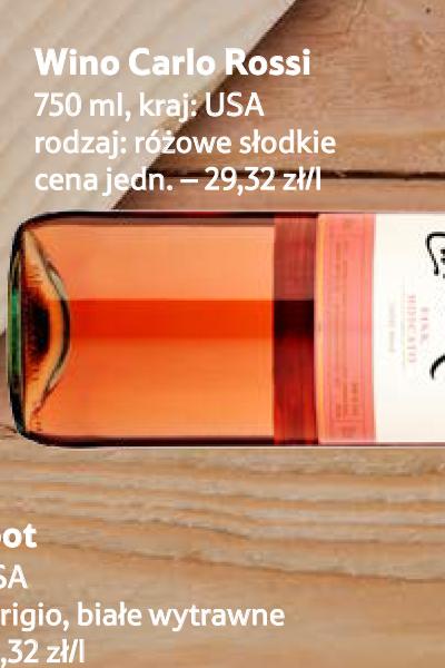 0ce1981908ebe Archiwum | Różowe słodkie wino, Carlo Rossi - Tesco Hipermarket 01 ...