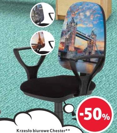 Krzesło obrotowe fotel z nadrukiem chester londyn Zdjęcie
