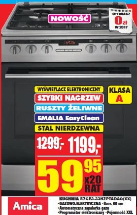 Archiwum Amica Kuchnia 57ge333hzptadaq Xx Rtv Euro