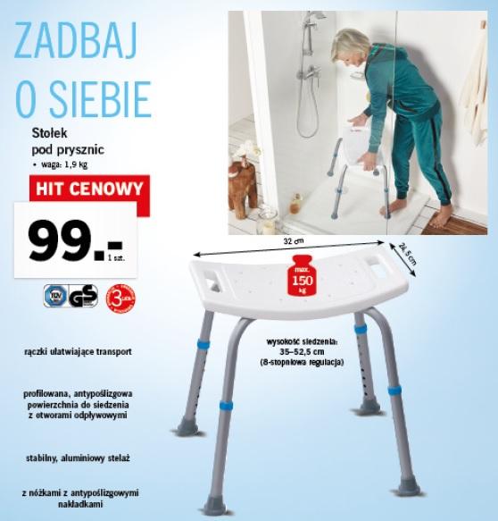 Archiwum Stołek Pod Prysznic Lidl 11 09 2017 17 09 2017