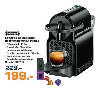 Góra Archiwum | DeLonghi Ekspres na kapsułki Nespresso EN80.B Inissia TT35