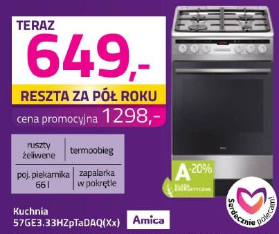 Archiwum Kuchnia 57ge333hzptadaqxx Amica Mycenter 08