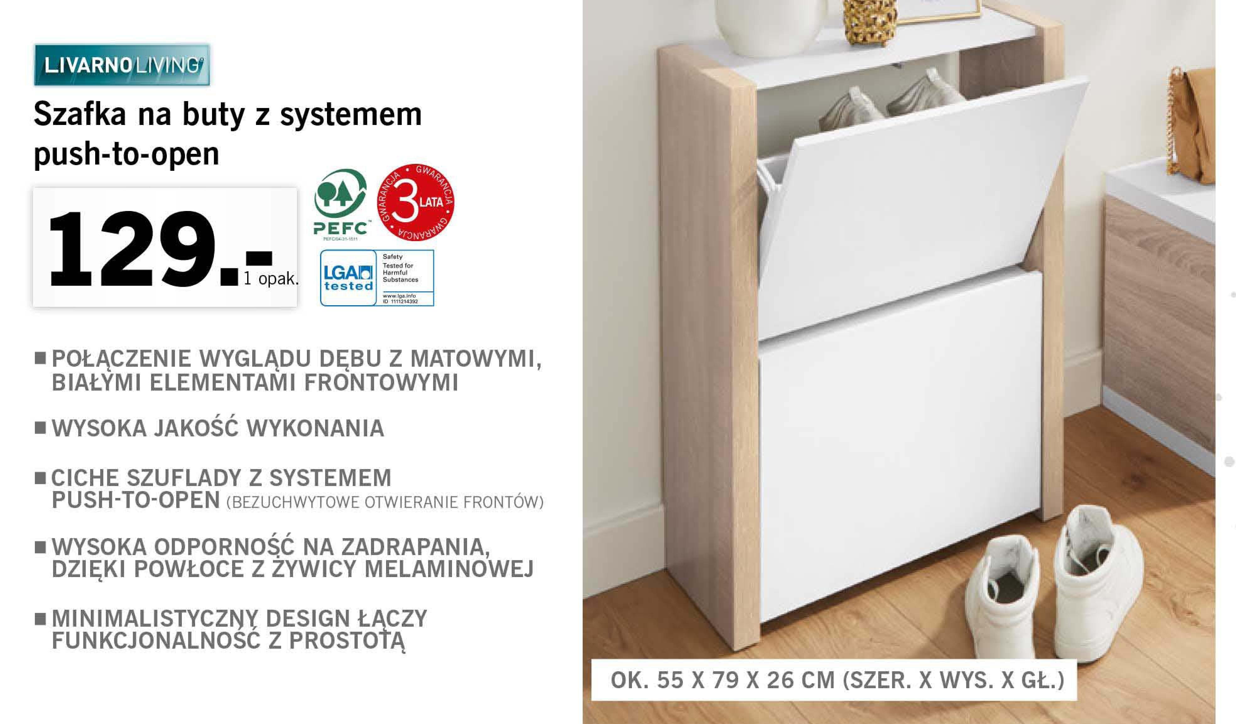 Archiwum Szafka Na Buty Lidl 23 04 2018 29 04 2018 Promoceny Pl Ulotki Promocje Znizki