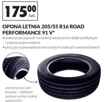 Archiwum Opona Letnia 20555 R16 Road Performance 91 V Biedronka