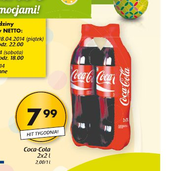 Archiwum Coca Cola Netto 14 04 2014 19 04 2014 Promoceny Pl Ulotki Promocje Zniżki