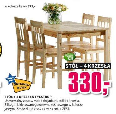 Archiwum Stół 4 Krzesła Tylstrup Jysk 09 10 2014