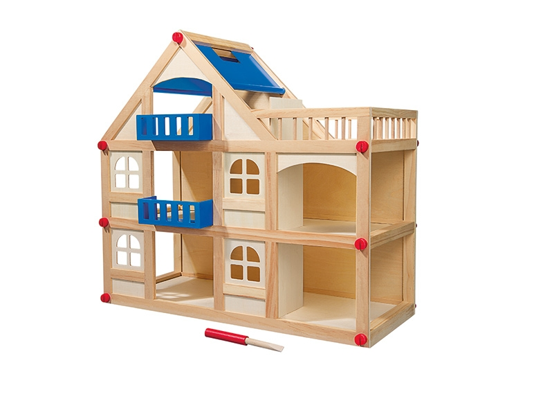 Archiwum  Drewniany domek dla lalek lub stół warsztatowy   -> Kuchnia Dla Dzieci Reklama Tv
