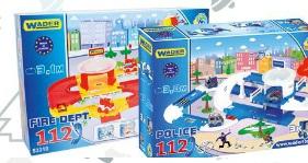 Archiwum Garaż Policji Lub Straży Pożarnej Wader Polomarket 20