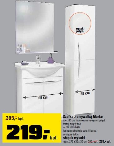 Archiwum Ceny Promocyjne Umywalki Z Szafkami Ulotki Promocje