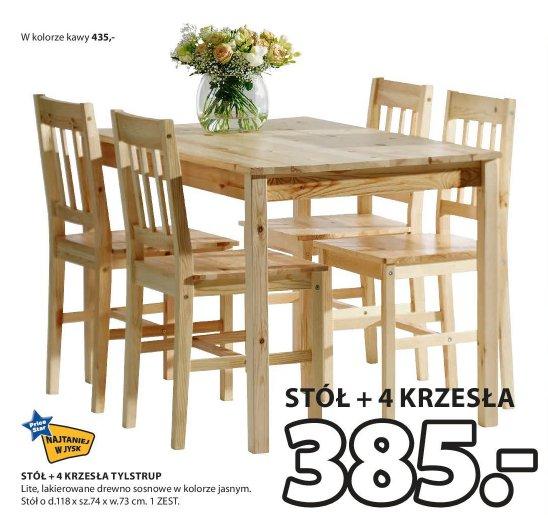 Archiwum Stół 4 Krzesła Tylstrup Jysk 30 04 2015