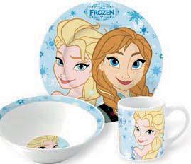 Archiwum Zestaw Obiadowy Dla Dzieci Disney Frozen 3 Szt Tesco