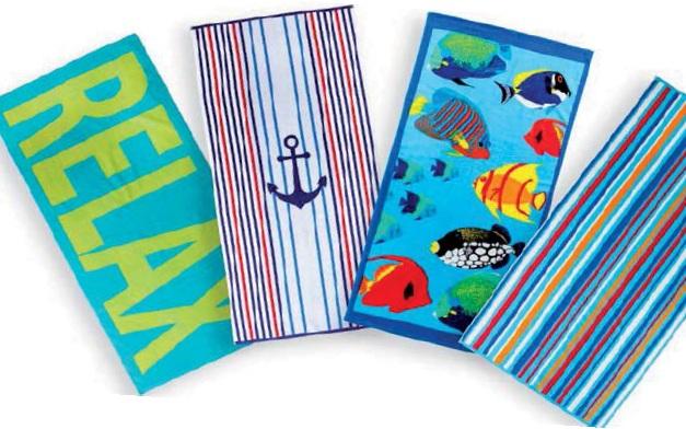 Ręcznik Plażowy 90 X 170 Cm - Tesco 14. 05